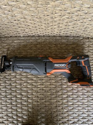RIDGID 18-Volt Lithium-Ion Cordless Brushless Reciprocating Saw (Tool-Only) for Sale in Dublin, CA