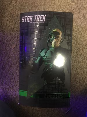 Star Trek Locutus Action Figure for Sale in Salt Lake City, UT
