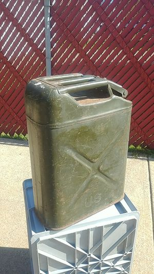 Vintage U S Military Gas Can for Sale in Brooklyn, OH