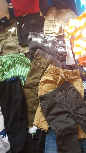 18mths-2T variety of shorts, Jeans,long sleeve T's, 2T snow pants for Sale in Brunswick, MD