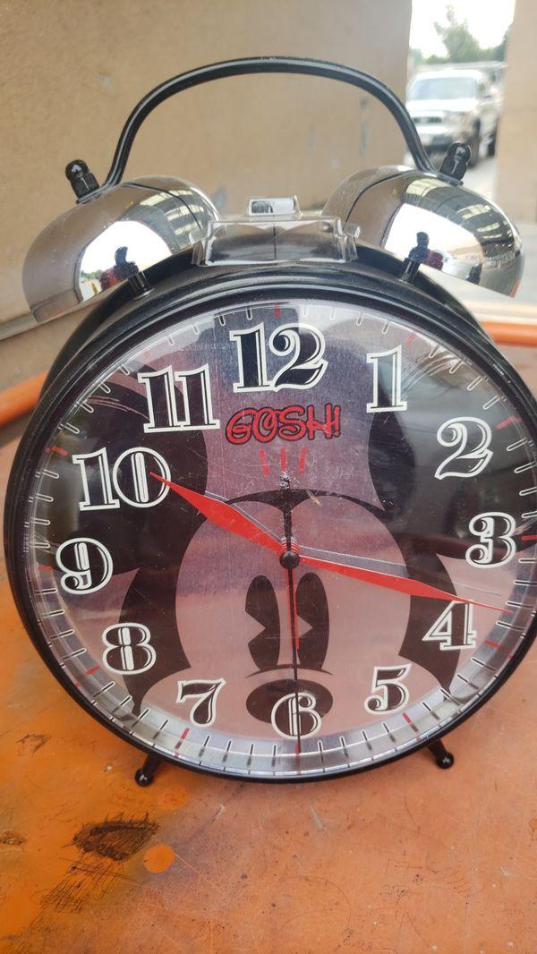 Mickey mouse alarm clock
