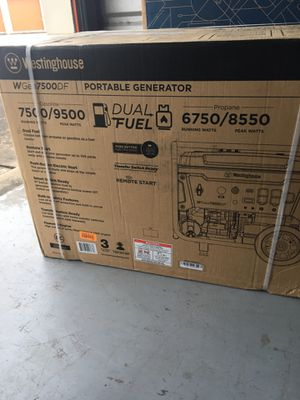 Westinghouse Generator for Sale in Katy, TX