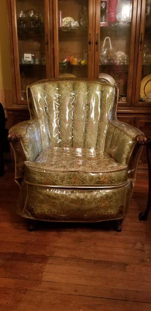 High back antique chair for Sale in Upper Darby, PA