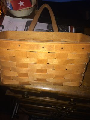 Longaberger basket for Sale in North Olmsted, OH