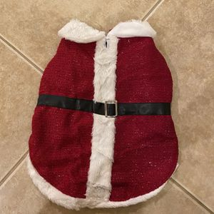 Dog Santa Outfit for Sale in West Palm Beach, FL