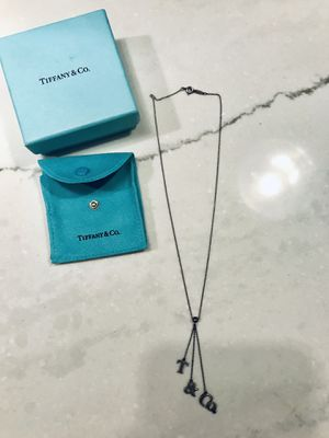 Authentic Tiffany's Stirling Silver Necklace for Sale in Miramar, FL