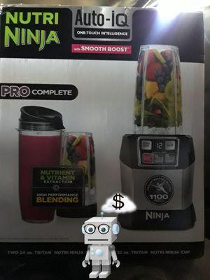 ☆☆NEW☆☆Nutri Ninja Auto iQ Pro Complete for Sale in Rancho Cucamonga, CA