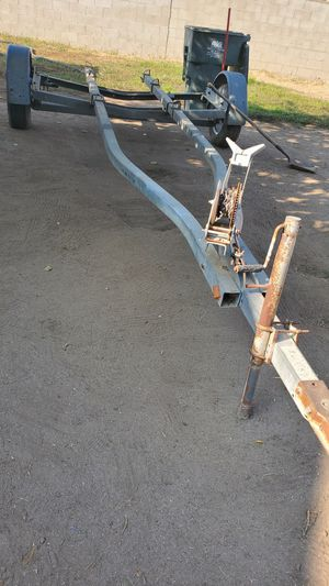 Boat trailer 78 1/2 inside 18 feet 1/2 from one end to another for Sale in Bakersfield, CA