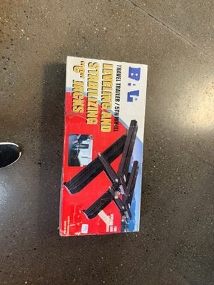 """BAL travel trailer leveling and stabilizing """"C"""" Jacks for travel Trailer and 5th wheeled for Sale in Lodi, CA"""