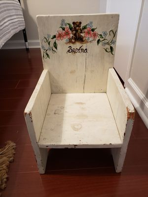 Kids Wooden Chair for Sale in Pearland, TX