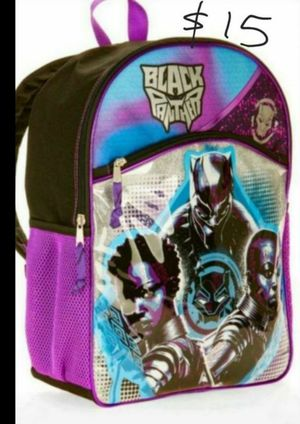 CHRISTMAS GIFT BLACK PANTHER BACKPACK for Sale in Phoenix, AZ