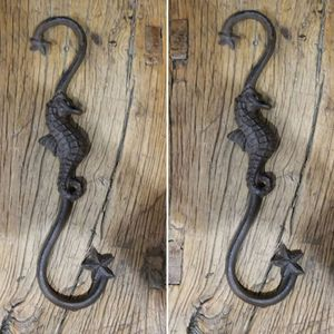 """Brand New! (Set of 2) 10 1/2"""" Seahorse Plant Hooks for Sale in Miami, FL"""