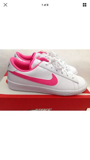 NIKE Sz 6Y COURT ROYALE AC - WHITE BrandNew without box for Sale in Puyallup, WA