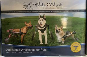 Walkin' wheels large breed wheel chair for Sale in West Palm Beach, FL