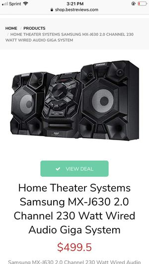SAMSUNG HOME THEATRE SYSTEM AUDIO GIGA SYSTEM for Sale in La Mesa, CA
