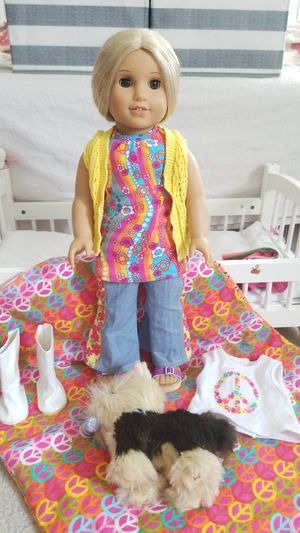 American Girl Doll & Puppy OBO for Sale in Springfield, VA