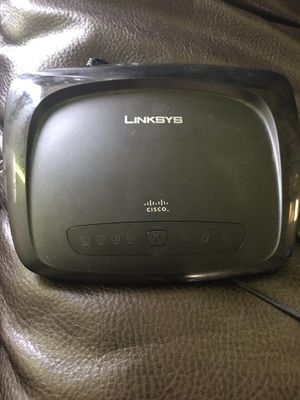 Linksys wireless router like new works excellent for Sale in Dearborn Heights, MI