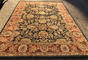 MOVIE PROP – KALEEN SAROUK PATTERN HAND TUFTED RUG – 8.0 x 11.1 for Sale in Glen Allen, VA