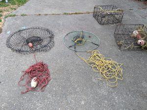 4 crab pots for Sale in Auburn, WA