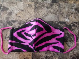 2 New adult face mask zebra for Sale in Eau Claire, WI