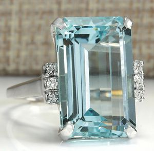 Beautiful Aquamarine Jewelry Ring Sizes 6 / 7 / 9 / 10 *See My Other 300 Items* for Sale in Palm Beach Gardens, FL