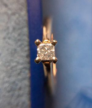 Solitaire Princess Cut Diamond Ring for Sale in South Gate, CA