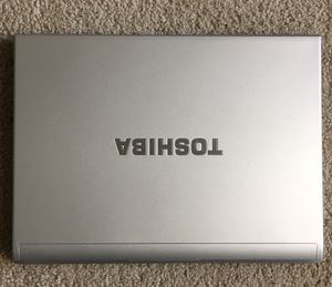 Toshiba laptop, Intel core 2 Duo processor P9300 @2.4ghz , 3 GB, 160 GB HDD for Sale in Gaithersburg, MD