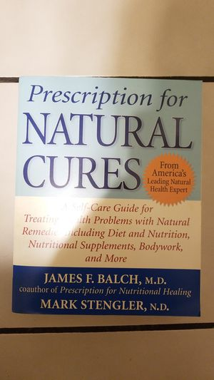 Prescription for natural cures book for Sale in West Palm Beach, FL