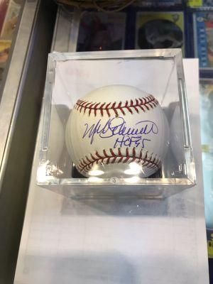 Mike Schmidt Philadelphia Phillies Hall of Fame Third Basemen Official MLB Baseball for Sale in Fairfax, VA