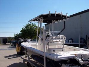 Aluminum T Top for Center console or walkaround boat for Sale in Fort Lauderdale, FL