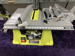 🧰💥🛠 Ryobi 15 Amp 10 inch Table Saw with accessories! Only $110! 💥🧰🛠 for Sale in Irving, TX