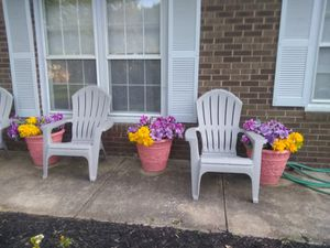Three flower pots for Sale in Winston-Salem, NC