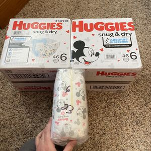 Huggies Snug And Dry Diapers Size 6 for Sale in McHenry, IL
