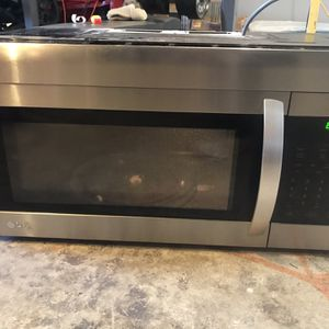 LG Over The Range Microwave for Sale in Citrus Heights, CA