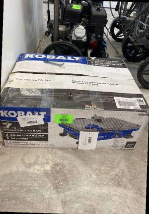 Kobalt Table Saw 🤩 kws b72-06 7-in 1 QS for Sale in Dallas, TX