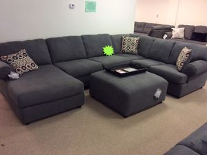 Brand new ashley 3 piece sectional in stock today!!! for Sale in Columbus, OH