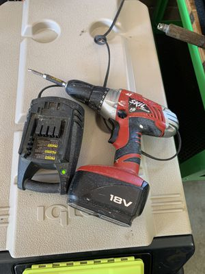 Skil 18 volt drill with charger for Sale in McDonough, GA