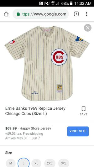 100th anniversary cubs mitchell and Ness jersey for Sale in Flagstaff, AZ