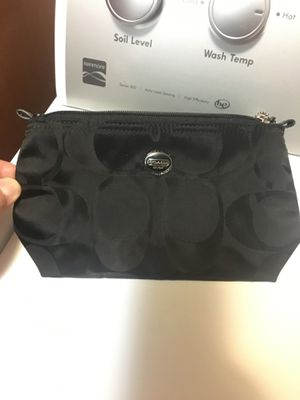 Coach Black on Black Pouch NEW for Sale in Gilbert, AZ