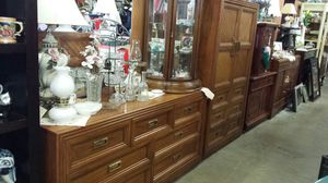 Armoire and long dresser for Sale in Olympia, WA