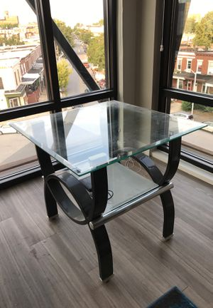 2 glasstop coffee tables for Sale in Baltimore, MD