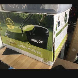 New In Box Sunjoe Sun Joe Electric Lawnmower mower for Sale in Los Angeles, CA