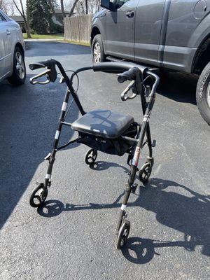 "Rolling walker ""rollator"" black for Sale in Addison, IL"