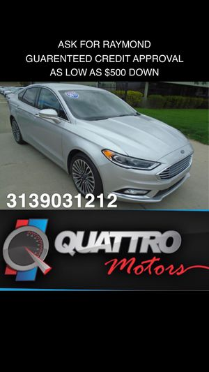 2017 Ford Fusion SE for Sale in Redford Charter Township, MI