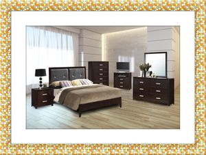 11pc bedroom set free mattress and delivery for Sale in Ashburn, VA