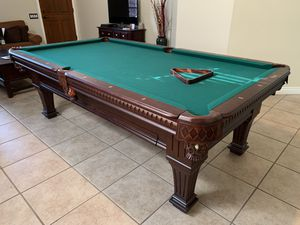 Imperial Ramsey 8 ft Antique Walnut Pool Table for Sale in Phoenix, AZ