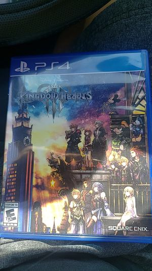 Kingdom hearts 3 for Sale in Lincoln Acres, CA