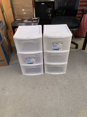 Storage containers / plastic drawers for Sale in Upland, CA