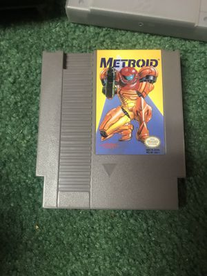 Metroid NES Nintendo vintage game for Sale in Lake Forest Park, WA