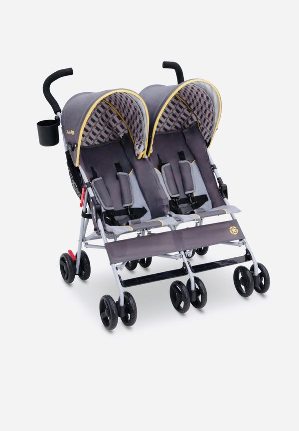 NEW! Baby Double STROLLER Jeep Brand Scout Infant Stroller Child Birth - 3yrs Lightweight Reclining Seat 5 Positions Kids Ride Travel